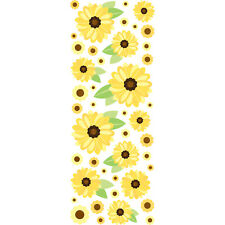 Crafts Sticko Stickers Puffy Sunflowers Leaves Small Large Repeats
