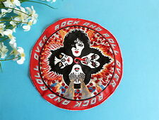 122#  APPLICATION ROCK AND ROLL OVER GROUPE KISS MUSIC DISQUE VINYL ÉP. VINTAGE