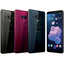 "HTC U12+ Plus 64GB 6GB RAM Dual Sim (FACTORY UNLOCKED) 6.0"" QHD Black Blue Red"