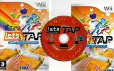 LETS TAP Wii GREAT  SIMPLE PARTY FUN FOR UP TO 4 PLAYERS OR ON YOUR OWN Wii/WiiU