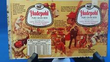 2 unrolled beer can from the Hudepohl Brewing Co of Cincinnati OH