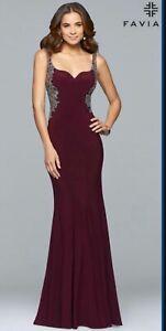 Faviana Beautiful Prom Dress - New With Tags - Size 8