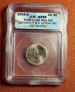 ICG SP69 2005-D Satin Finish Ocean View Nickel. Lot t1302