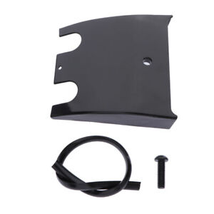 NEW Drag Specialties Lower Dash Extension Panel For Harley Touring - Black