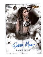 WWE Ember Moon 2018 Topps Undisputed On Card Autograph SN 191 of 199