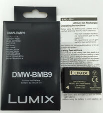 NEW BATTERY DMW-BMB9E FOR PANASONIC FZ100 DMC-FZ45/40/48/DMC-FZ40GK,DMC-FZ100GK