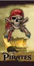 Pirate's Ship Beach Towel