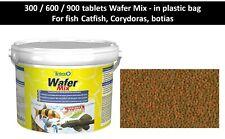 Tablets Wafer Mix Tetra, Fish Food tablets sink, Crabs, Cat fish, Shrimps, Botia