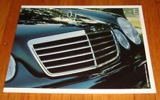 Original 2002 Mercedes Benz E-Class Sales Brochure E320 E430 E55 AMG