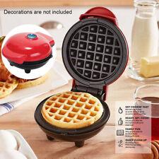 Mini Waffle Maker Kitchen Supplies Nonstick Baking Pancake Snack Paninis Machine