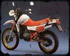 Gilera Rx Arizona Hawk 200 A4 Metal Sign Motorbike Vintage Aged