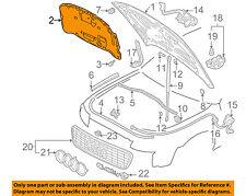 AUDI OEM 96-02 A4 Quattro Hood-Insulation Pad Liner Heat Shield 8D0863825S