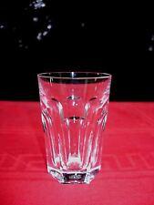 BACCARAT HARCOURT FLAT TUMBLER CRYSTAL GLASS GOBELET CRISTAL TAILLÉ ART DECO