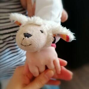 Rassel Schaf für Arm, Kleinkind Baby, Sterntaler