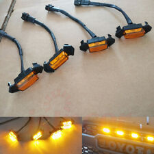 New listing For Toyota Tacoma Trd Grill Leds 2016-2018 Hot Style Grille Led Amber Lights