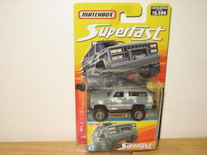 Matchbox Superfast Chevy Blazer 4x4 & Chevy K-1500