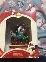 Disney Minnie Mouse Nightlight Christmas Tree NIP
