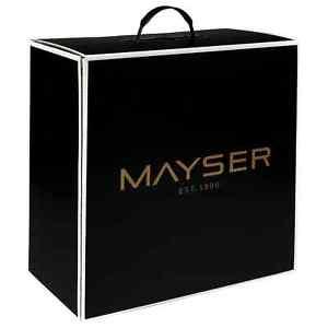MAYSER Hutschachtel Since 1800 Hutkoffer Aufbewahrung für Hüte