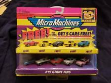 Galoob Micro Machines Giant Fins 10 car set Unopened 65080 Micro Machines