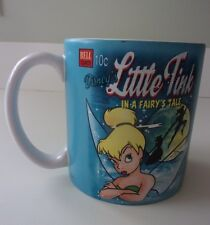 Disney Store Little Tink Tinkerbell Large Coffee Mug Cup Bell Comics