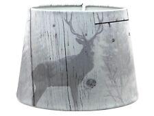 Stag Paralume Lampadario Da Soffitto Lampade Rustico cervo Highland asse di legno camera da letto