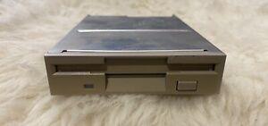 "Vintage TEAC FD-235HF Internal 1.44MB 3.5"" Beige  Floppy Disk Drive"
