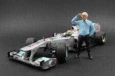 Bernie Ecclestone Figur für 1:18 Minichamps PMA Mercedes Petronas F1