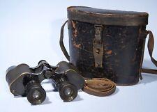 Dienstglas E. Leitz Wetzlar 8x L14 115=6,5 WWII German Military Binoculars Leica