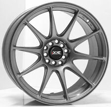 """17"""" NEW XXR527 SILVER NEW WHEELS AND TYRES XXR 527 STRETCHED WHEELS"""
