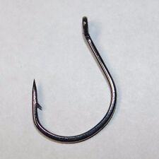 EAGLE CLAW LAZER WACKY WORM FISHING HOOKS-PLATINUM BLACK-(25 PACK)-SIZE 2/0