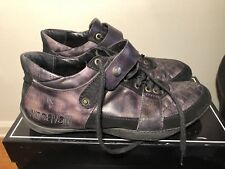 just cavalli mens black shoes size 10 us