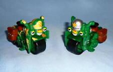 2pc. LOT Maisto Harley Davidson Kids Fatboy Motorcycle Vehicle Toy Toys