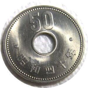 elf Japan 50 Yen Yr 40 1965