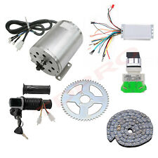 48V 1800W Brushless Motor Kit W/ Controller, Chain Sprocket for Electric Scooter