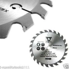 "4 3/8"" INCH SMALL FINE CARBIDE TIP TIPPED CIRCULAR POWER SAW BLADE FOR MAKITA"