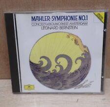Mahler Symphony Symphonie No 1 Leonard Bernstein Amsterdam CD Album