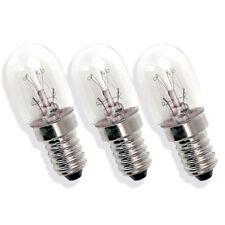 3 x Sewing Machine Bulb 15W 240V - Janome, Elna, Brother, Singer, Globe,