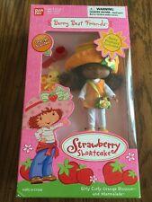 2003 Strawberry Shortcake Berry Best Friends Girly Curly Orange Blossom