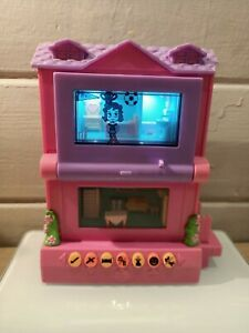 Collectable Pixel Chix Digital House Game Pink & Purple EUC rare connection fun