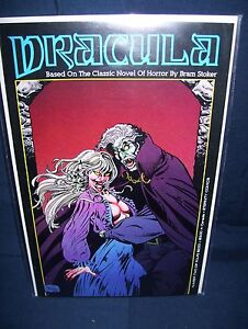 Dracula #2 Eternity Comics 1989 with Bag and Board