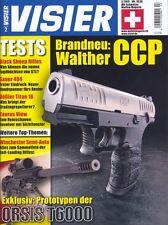 Visera 2/2015 ORSIS t6000, rifle 57, Aberdeen Proving Ground, Walther pcc