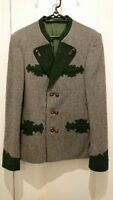 Super rare dead stock European clothes Tyrolean jacket  size M  From Japan F/S