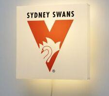 Sydney Swans AFL Wall Lamp BNIB Bar / Kids Bar Light