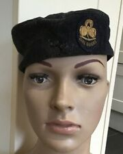 More details for rare vintage girl guide hat with badge