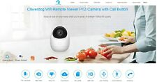 Cleverdog WiFi Remote Viewer PTZ Camera with Call Button
