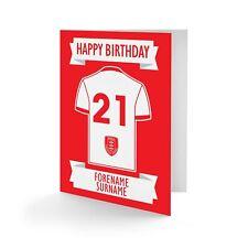 Fulham F.C Chemise Personnalisé Joyeux Anniversaire Carte