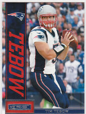 new style 18286 d04cd Tim Tebow New England Patriots Football Trading Cards for ...