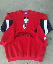 Indiana Hoosiers Vintage Starter Sweatshirt Jacket Men's size XL ( VERY RARE )