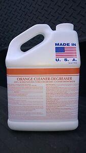 1 GAL A.P ORANGE CITRUS CLEANER DEGREASER ODOR ELIMINATOR PATRIOT CHEMICAL SALES
