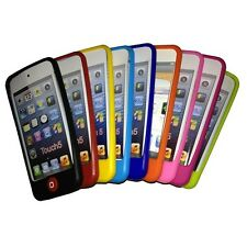 Apple iPod Touch 5 (5th Gen) Silicone Skin Case + Screen Protector